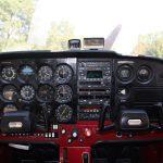 Учебно-тренировочный самолет Cessna F172M. UR-CPD