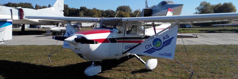Cessna F172M. UR-CPD.